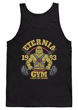 ETERNIA GYM VEST T SHIRT HE-MAN WEIGHTLIFTING TRAINING BODYBUILDING MMA