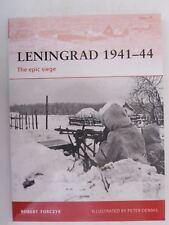 Osprey Campaign 215: Leningrad 1941-44 : The Epic Siege