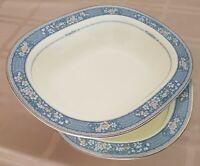 Noritake Bone China Japan,Randolph,# 9721-Oval Vegetable Serving Bowl-(lot of 2)