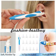 Smart Ear Wax Cleaner Set Soft Spiral Easy Swab Earwax Removal Safe Earpick Tool