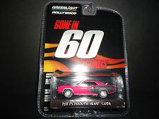 Greenlight Plymouth Cuda Hemi 1971 Gone in 60 Seconds 1/64 Limited Edition