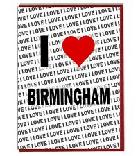 Greeting Card - Birthday Card - I Love Birmingham