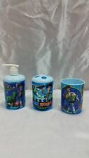 DISNEY PIXAR TOY STORY THE MOVIE 3 PIECE BATHROOM SET NEW FAST FREE SHIPPING