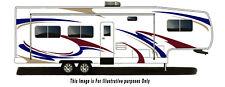 RV, Trailer Hauler, Camper, Motor-home Large Decals/Graphics Kits 28-k-9
