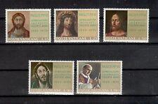 Vatikan Michelnummer 544 - 548 postfrisch (Kunst 814)