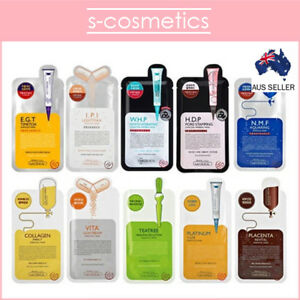 [MEDIHEAL] Essential Ampoule HDP WHP Sheet Masks (11 Options) NMF IPI Collagen