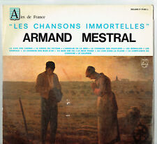"33T Armand MESTRAL Disque LP 12"" CHANSONS IMMORTELLES L'Angelus PHILIPS 77022"