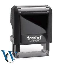 Stempel selbstfärber TRODAT printy bis zu 8 Zeilen mit Wunschtext oder Logo