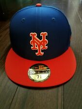 New Era New York Mets ALT 59Fifty Fitted Hat MLB Cap size 7 3/8 Brand New