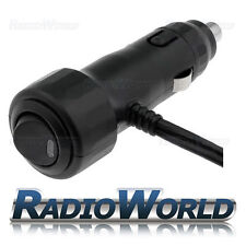 12v Macho Enchufe/Enchufe de Mechero de coche/conector LED en Off interruptor con cable