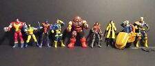 Marvel Universe 3.75 X-Men lot Professor Gambit Jugg Nightcrawler Cable Jubilee