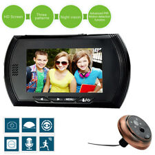 "4.3"" TFT GSM Digital Peephole Viewer 140°Door Eye Doorbell Video Color IR Camera"