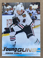 2019-20 Upper Deck Dominik Kubalik #246 RC Young Guns - Red Hot Blackhawks Star
