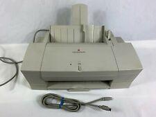 Vintage Apple Color StyleWriter 2400 Computer Inkjet Printer Macintosh Mac 1994