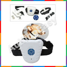 Ultrasonic Anti Barking Dog Collar Collars Training STOP Shock Control