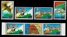SENEGAL - 1986 BIRDS - Sc#751/756 - MNH - E 2135