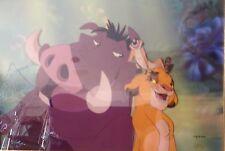 Disney The Lion King Cel HAKUNA MATATA  Rare Limited Edition Animation Art cell