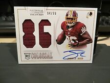 National Treasures Colossal Autograph Jersey Redskins Jordan Reed 94/99  2013