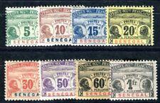 SENEGAL PORTO 1906 Yvert TT 4-11 * SATZ 120€(F4115