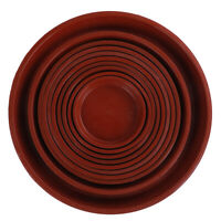 garden pp resin round plant saucer pad flower pot base water saving tray  IYTRFR