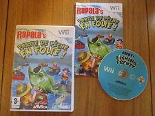 Rapala Partie de pêche en Folie / Jeu Wii / Complet