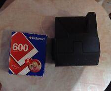 Vintage Polaroid Supercolor 635 CL instantánea cámara de película de 600 con 2 paquete de película
