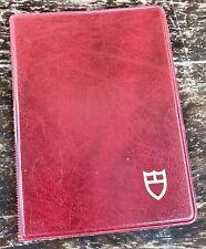 TUDOR ROLEX Document Translation Certificate Holder Wallet Big Block Steel 1980s