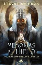 Memorias del Hielo / Memories of Ice by Steven Erikson: New