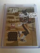 2010 Donruss Elite Stars Jerseys Gold #16 Reggie Bush 23/299 :New Orleans Saints