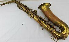 1951-2 Conn 6m Naked Lady Alto Saxophone Parts or Repair -Mircro-Tuner Neck