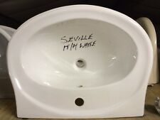 Armitage Shanks Seville Basin White -Discontinued Bathrooms