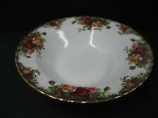 Royal Albert Old Country Roses Rimmed Soup Bowl Original England