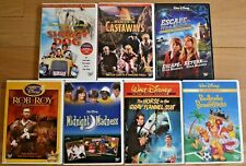 Lot of 7 Older Titled Disney DVDs - Midnight Madness, The Shaggy Dog, & More