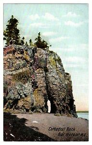 Cathedral Rock, Bar Harbor, Maine Postcard *243
