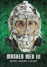 10/11 BETWEEN PIPES MASK MASKED MEN III #MM-31 MARC-ANDRE FLEURY PENGUINS *20990