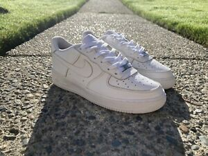 2016 Nike Air Force 1 Low White Size 7Y Boys/Mens Size 8.5 Womens