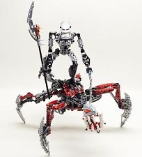 Lego 8764 Bionicle Voya Nui Piraka Vezon and Fenrakk robot complet de 2006