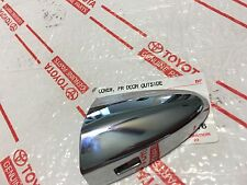 *NEW LEXUS LS460 LS600H DRIVER FRONT DOOR CHROME HANDLE CAP COVER OEM 2007-2012