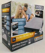 """Intex Queen 13"""" DuraBeam Plus Plush Dura-Beam Comfort Airbed Air Mattress"""