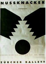 Original vintage poster ZURICH BALLET NUTCRACKER 1992 Botta