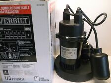 Everbilt Sba033Bc Submersible Sump Pump 1/3Hp - Inspected & Tested