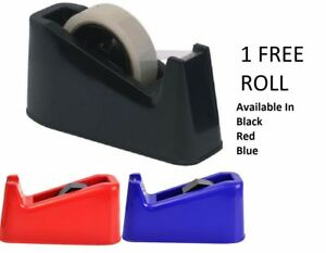 Heavy Duty Sellotape Desktop Dispenser Tape Weighted Spares Replacement Part