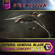 Star Citizen - Esperia Vanduul Blade LTI **ORIGINAL CONCEPT**