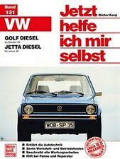 WERKSTATTHANDBUCH JETZT HELFE ICH MIR SELBST 131 VW VOLKSWAGEN GOLF JETTA DIESEL