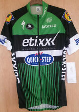 BNWT Vermarc Etixx Quickstep cycle jersey.small. full zip. GREEN.  black.