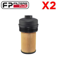 2 X P7436 Baldwin Oil Filter with Lid F-Truck 6.0L/6.4L T/Diesel 2003 to 2010