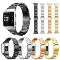 For Fitbit Ionic Stainless Steel Replacement Wrist Strap