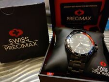 Swiss Precimax Propel Automatic Seiko NH26 Black Stainless-Steel Divers Watch
