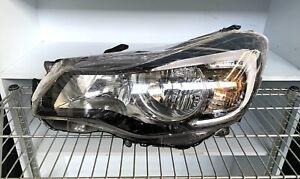 Subaru XV G4X LH left side halogen headlight black insert type