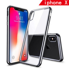 for 2017 Apple Iphone10/ X Case Clear Bumper Slim Shockproof Soft TPU Skin Cover